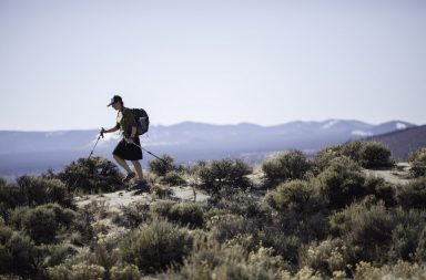 Sage Clegg is a Bend, Oregon resident thru hiker and the first to complete the Oregon Desert Trail. Photo by Rob Kerr