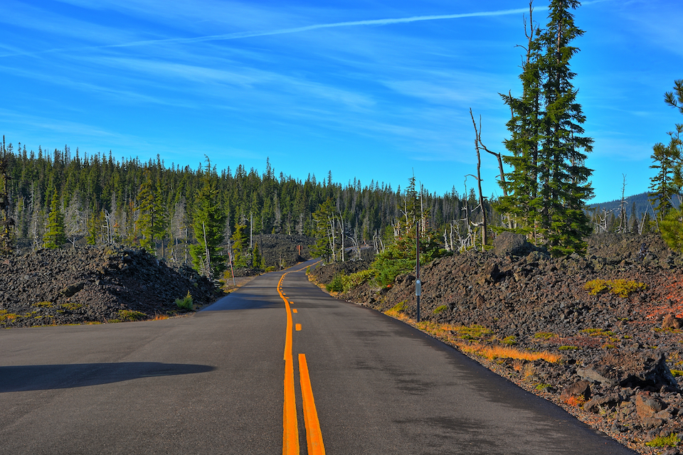 mckenzie highway, oregon scenic byways