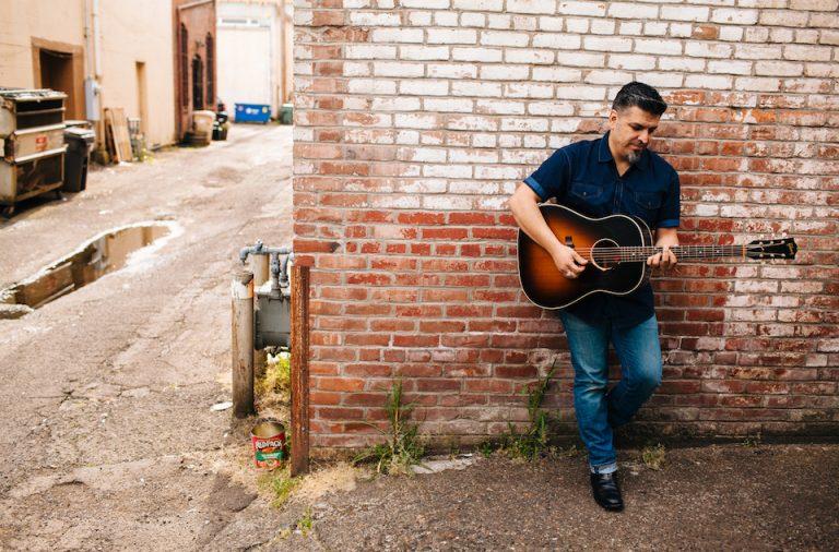 Photographs of musician Chris Arellano by Salem based photographer Eugene Pavlov around Tuesday May 5, 2016 around Albany, Oregon.