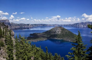 crater lake, circle of discovery, national parks, 1859, wizard island, bryan hill