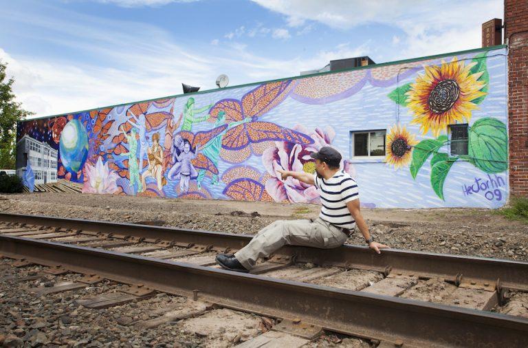 hector hernandez, portland, artist, mural, shauna intelisano