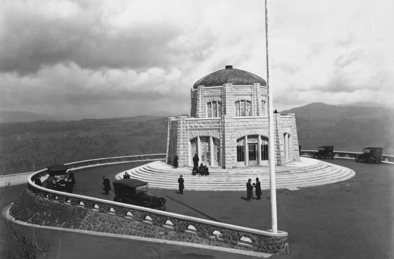 vista house, columbia river gorge, 1859