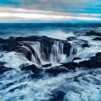 Sacred waters  —Location: Thor's Well