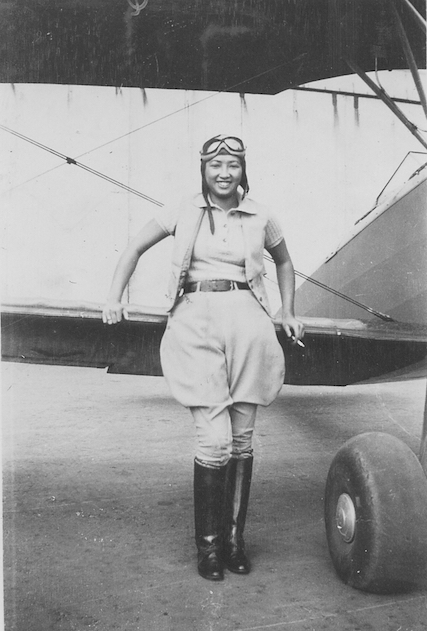 hazel lee, fighter pilot