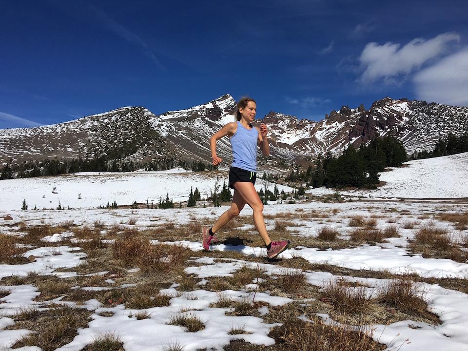 elyse kopecky, running