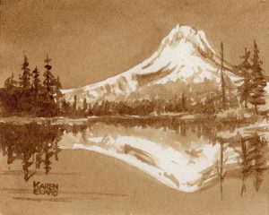 Mt Hood Reflection