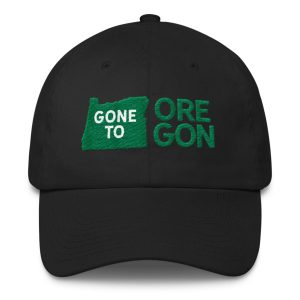 Gone to Oregon Cotton Cap