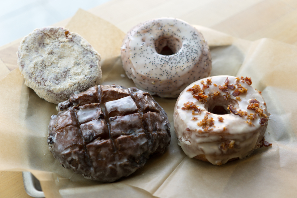 blue star donuts, pdx