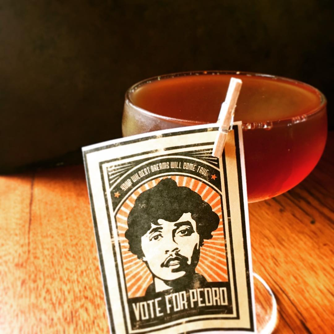 Vote for Pedro Cocktail