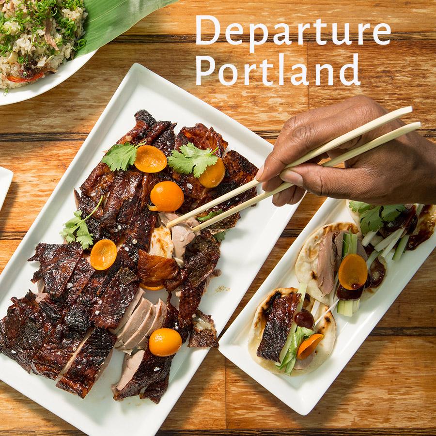 Departure Portland - 1859 Oregon\'s Magazine