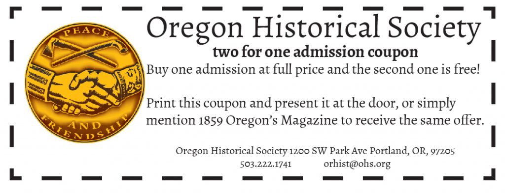 Oregon Historical Society Coupon