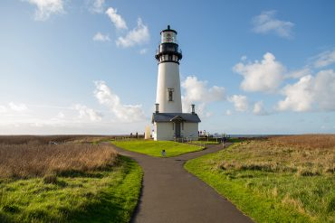 Yaquina Head Lighthouse Oregon Coast photo by Sparkloft courtesy of Travel Oregon