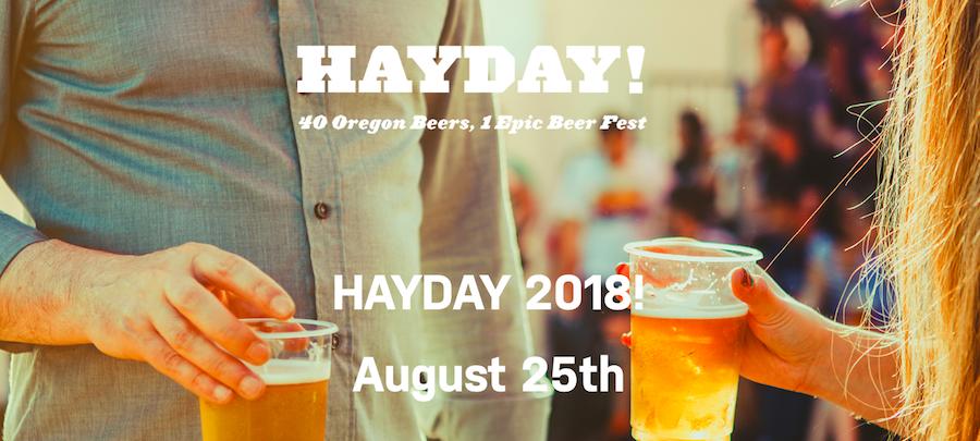 Second Annual HAYDAY!, Coastal Celebration of Oregon Beer