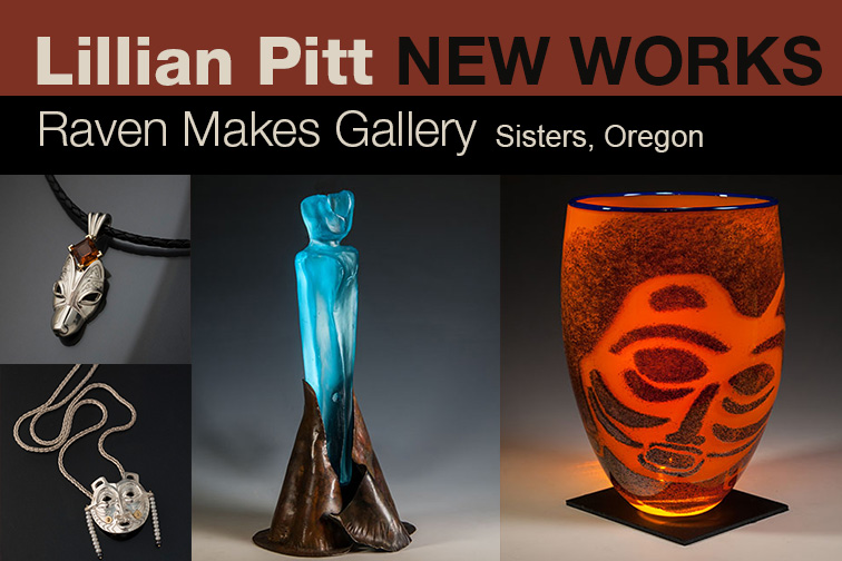 Lillian Pitt Gallery Show in Sisters