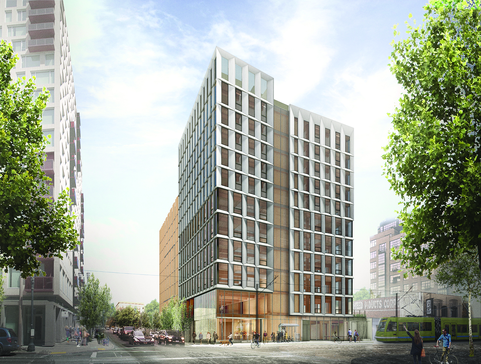 All-Wood Building in Portland Coming Soon